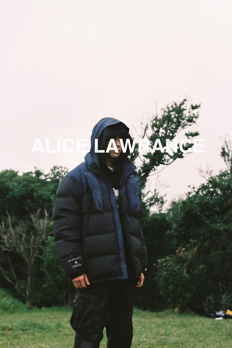 ALICE LAWRANCE XX Fall/Winter 2018 Collection ALIEN 310 Hooded Padding Jacket Black Blue