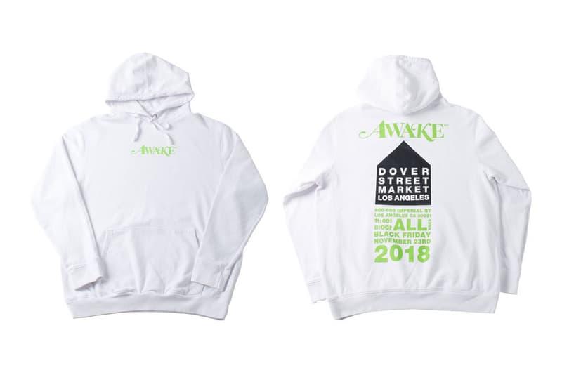 Awake NY Dover Street Market Los Angeles Hoodie White