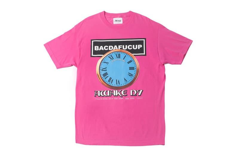 Awake NY BACDAFUCUP T-shirt Pink