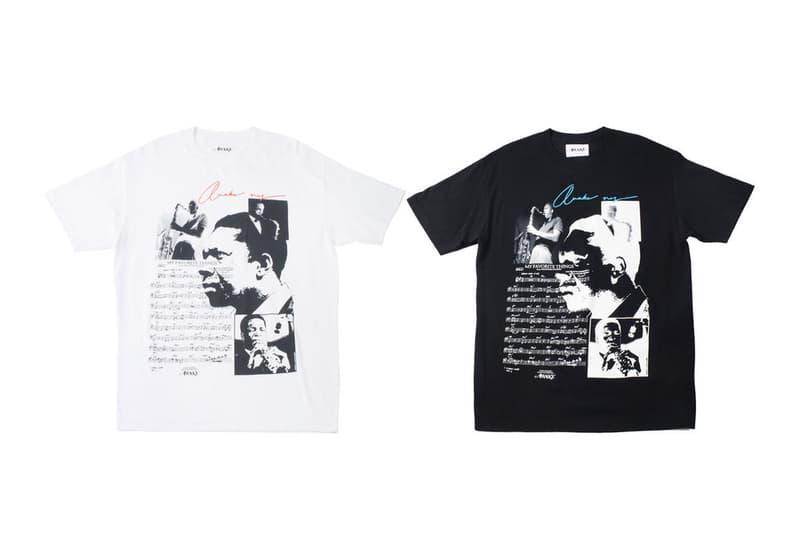 Awake NY John Coltrane T-shirt Black White
