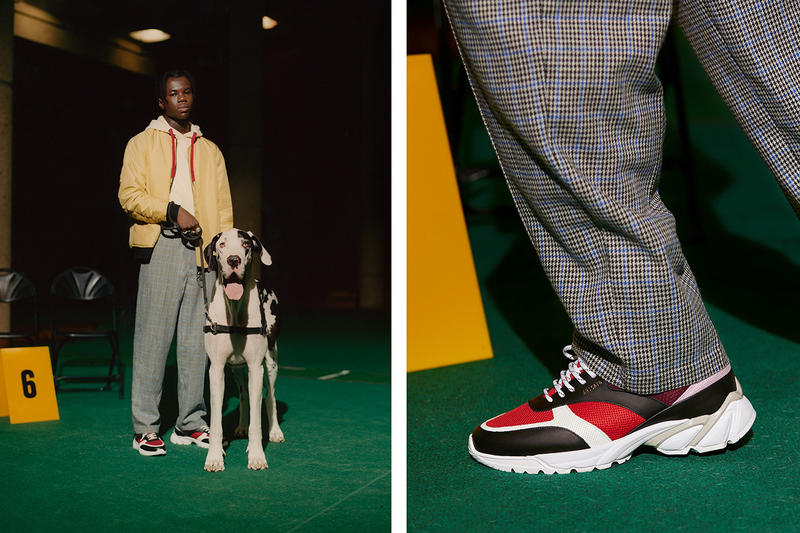 Axel Arigato Fall Winter 2018 System Runner Sneakers Trainers Lookbook