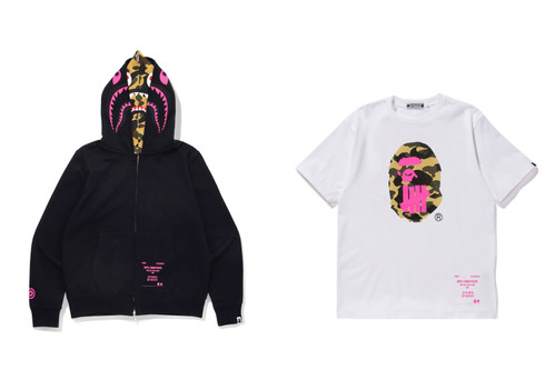 1ae6879d15be UNDEFEATED x BAPE Debut an Exclusive
