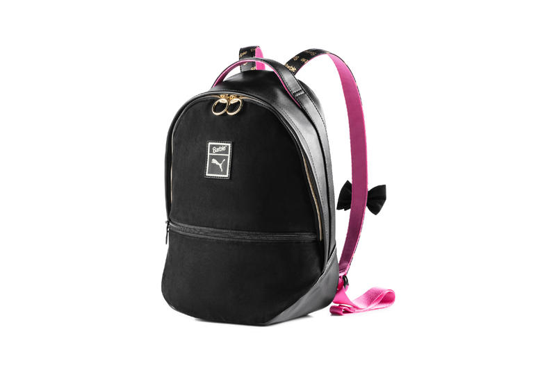 Barbie x PUMA Suede 50 Collaboration Collection Backpack Black
