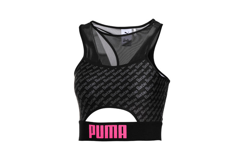 Barbie x PUMA Suede 50 Collaboration Collection Sports Bra Black
