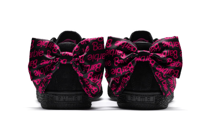 Barbie x PUMA Suede 50 Collaboration Collection Sneaker Black Pink