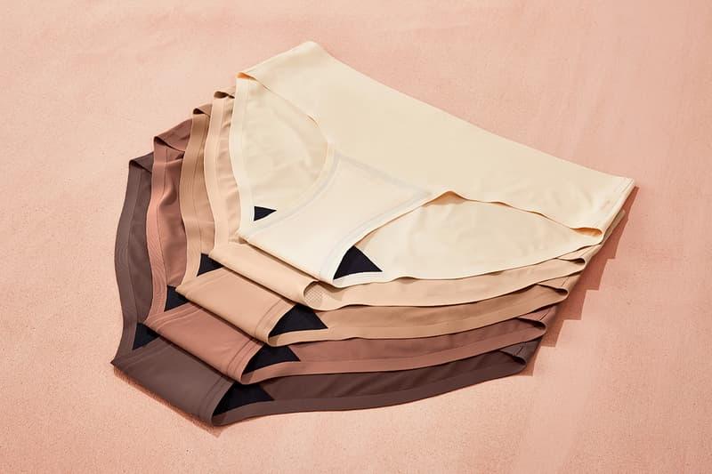 Panties Undies Period Proof Underwear Knix Campaign Lookbook Diversity Black Brown Beige Skin Tone Lingerie Nudes Nude Neutral Colors