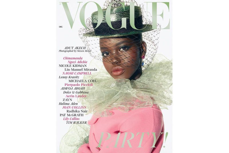 Edward Enninful 1 Year at British Vogue Cover Fashion Editorial Adut Akech Stella Tennant Saffron Vadher Primrose Archer