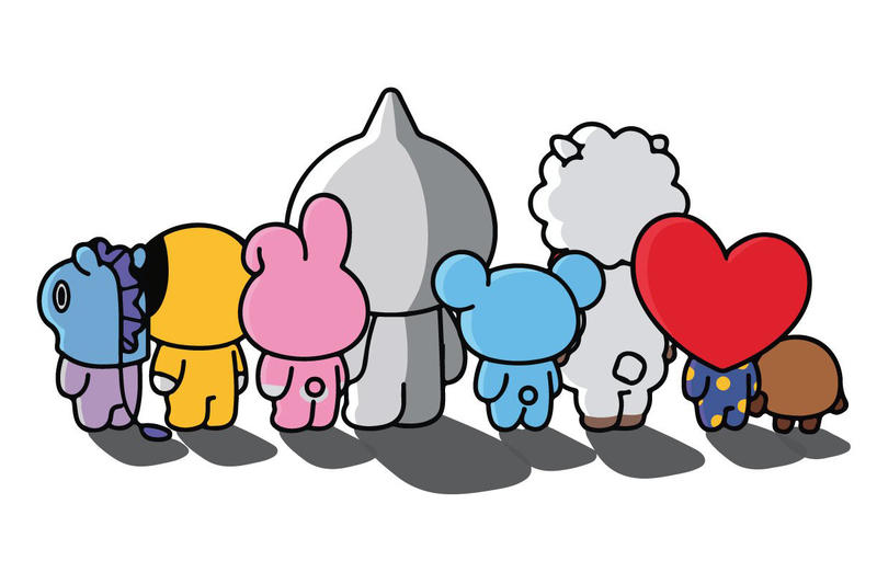 BT21 x Anti Social Social Club Collaboration Teaser