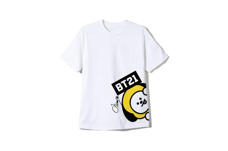 BTS BT21 x Anti Social Social Club Collection T-shirt White