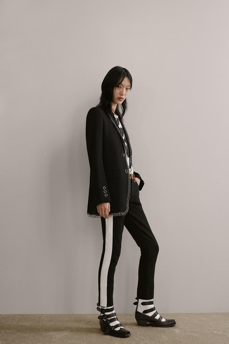 Burberry Riccardo Tisci Pre-Fall 2019 Collection Blazer Pants Black
