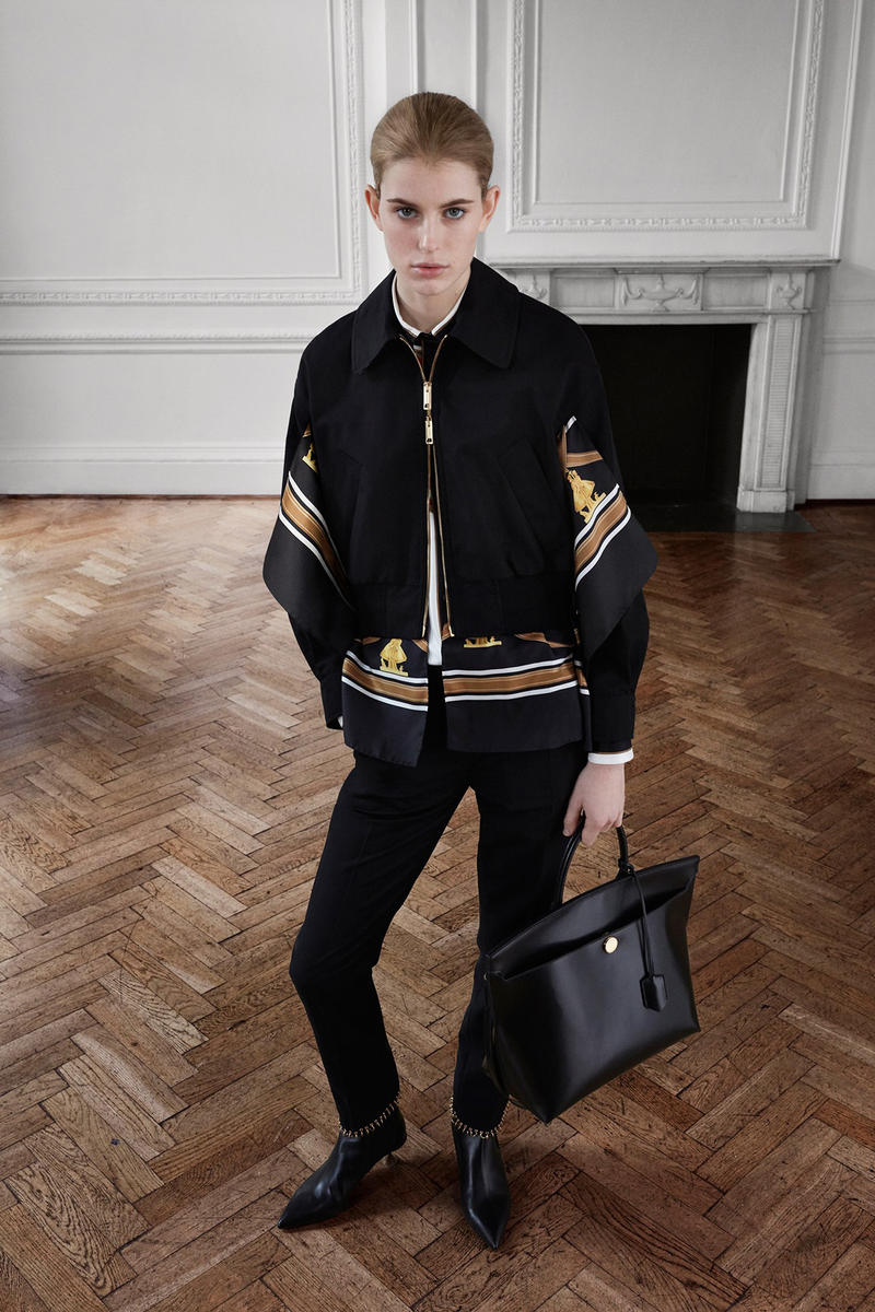 Burberry Riccardo Tisci Pre-Fall 2019 Collection Blazer Trousers Black