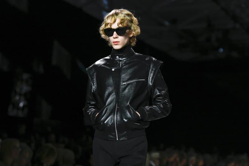 Celine Hedi Slimane Spring Summer 2019 Paris Fashion Week Show Collection Jacket Black