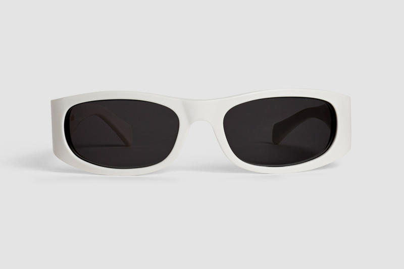 Celine Sunglasses Square White
