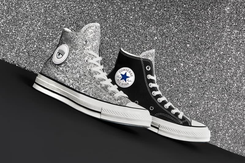Chiara Ferragni x Converse Chuck Taylor All Star 70 Glitter Black Silver