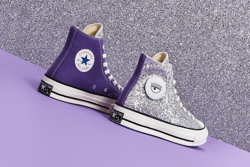 Chiara Ferragni x Converse Chuck Taylor All Star 70 Glitter Purple Silver