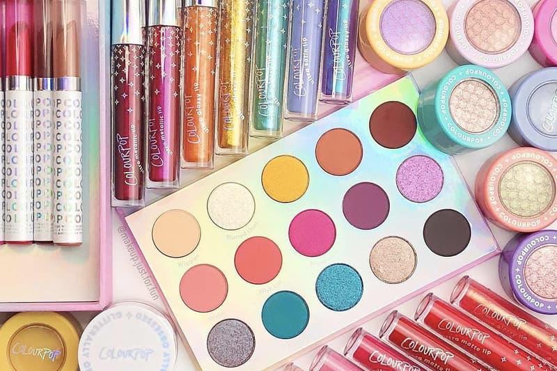 ColourPop Holiday Collection Eyeshadow Lipsticks Highlighter Palette 2018