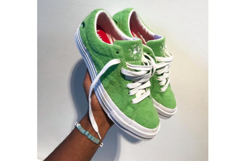 Tyler, The Creator Grinch GOLF le FLEUR Drop Sneaker Shoe Green Movie Inspired