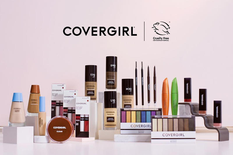 CoverGirl Cosmetics Makeup Cruelty-Free Brand Beauty Announcement California Law
