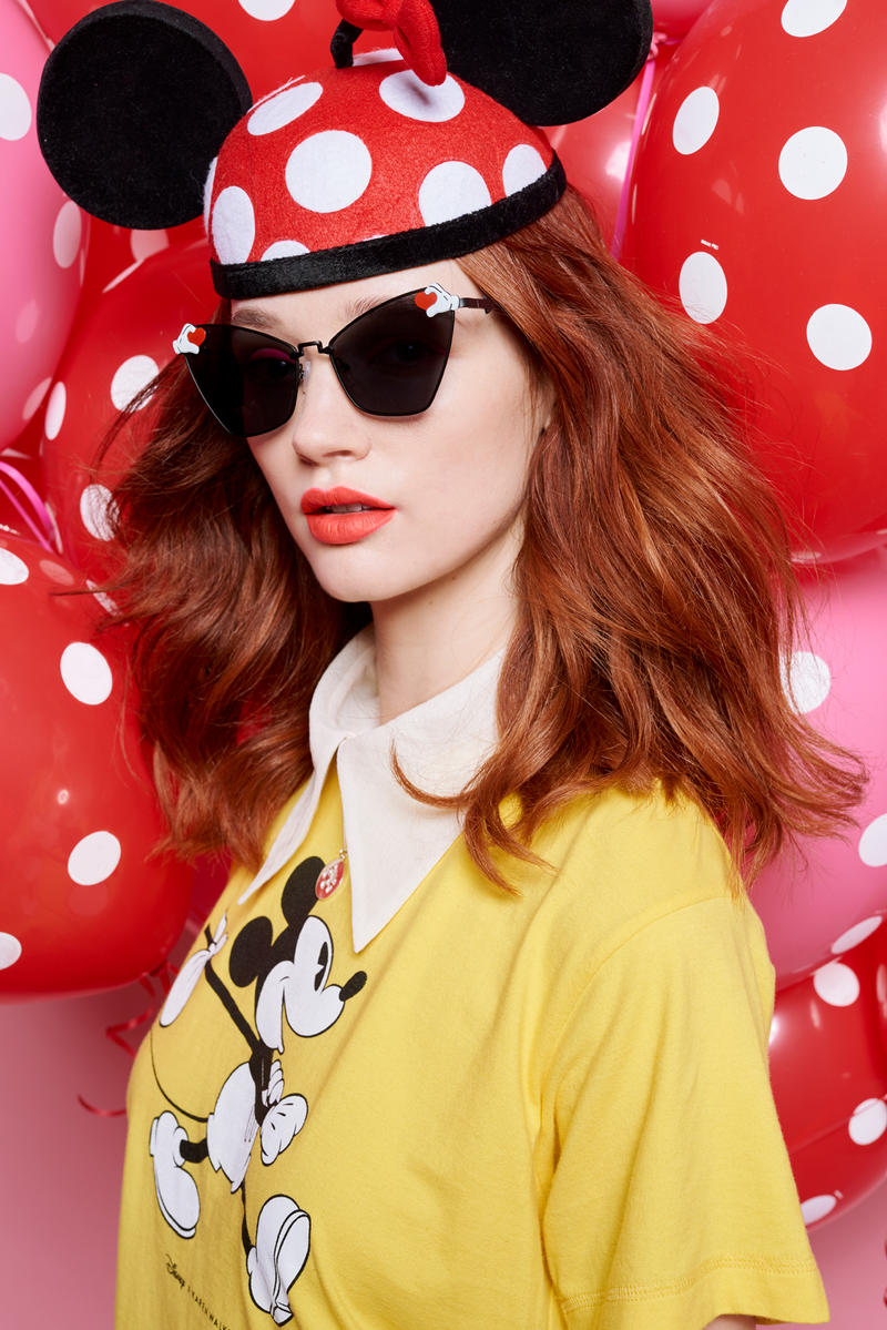 f4cc76b5768 Disney x Karen Walker Mickey Mouse Collaboration Anniversary Minnie Mouse  Capsule Collection Eyewear Apparel Cartoon Character