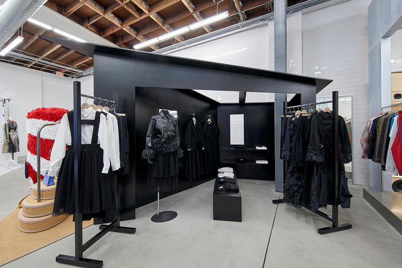 Inside Look at Dover Street Market Los Angeles Installation New Store Opening DSM LA Off-White Comme des Garcons Palace Stussy Maison Margiela Play