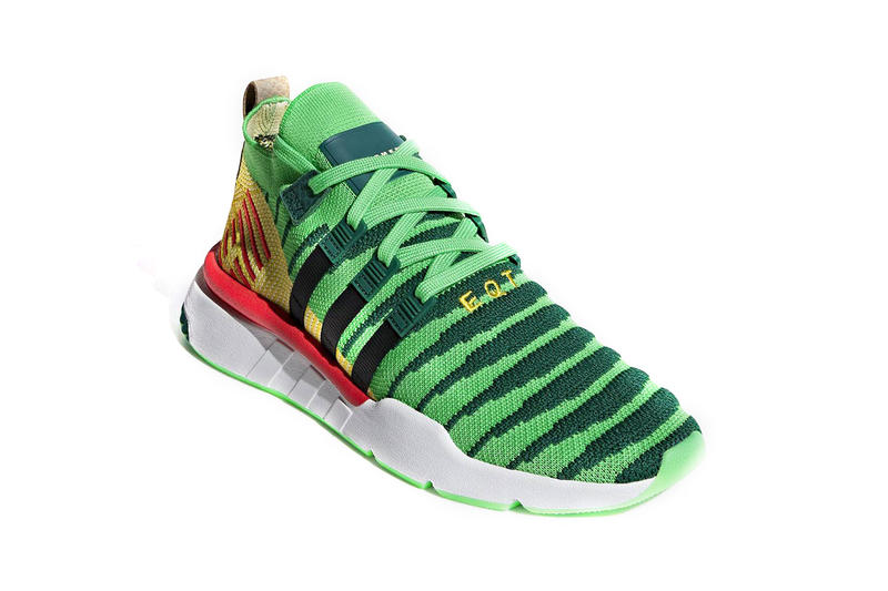 Dragon Ball Z x adidas EQT Support Mid ADV PK Shenrong Green