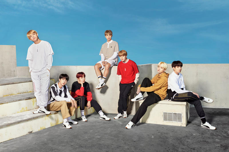 BTS PUMA Collaboration