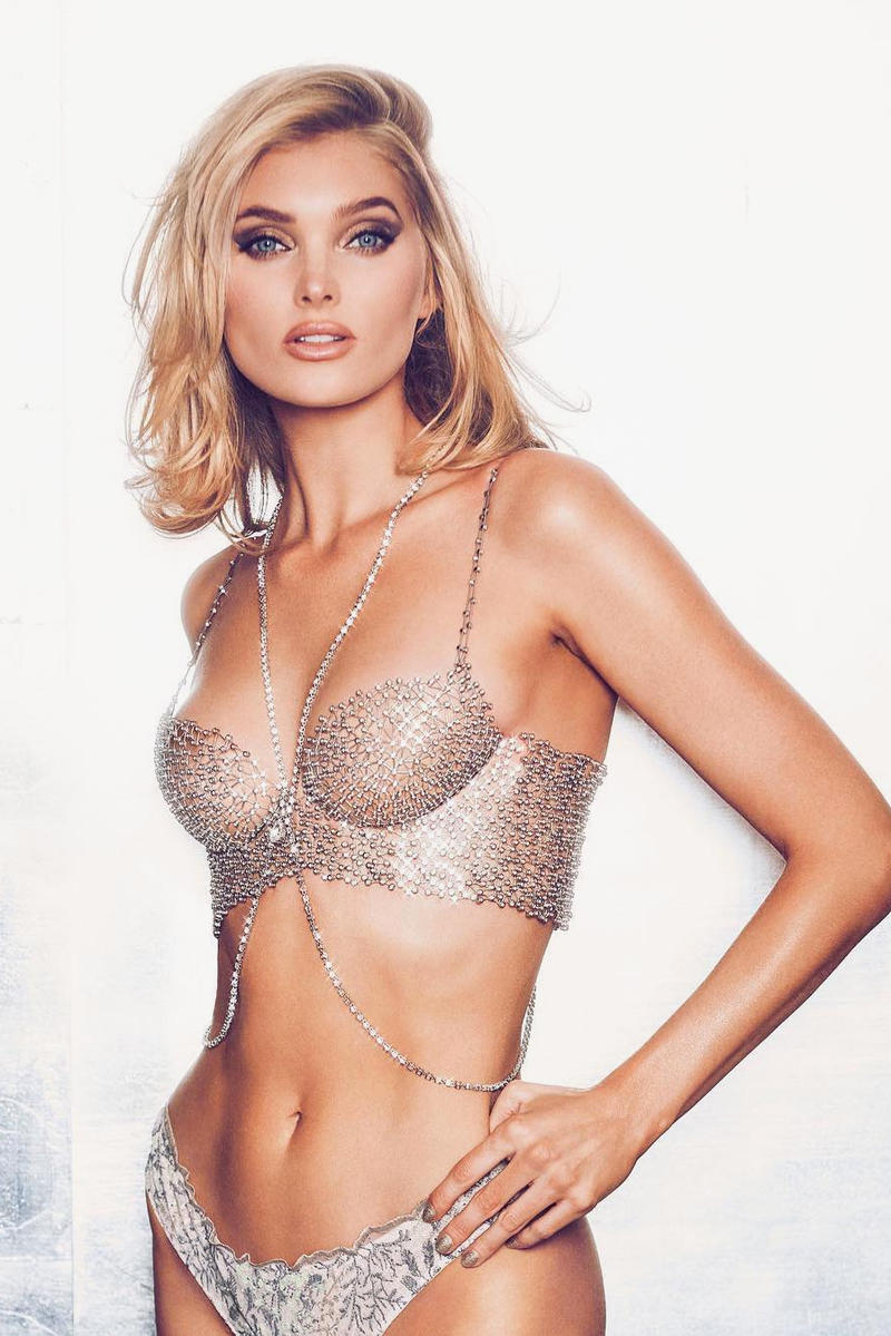 Victoria's Secret New $1 Million USD Fantasy Bra Elsa Hosk Modelling Diamond