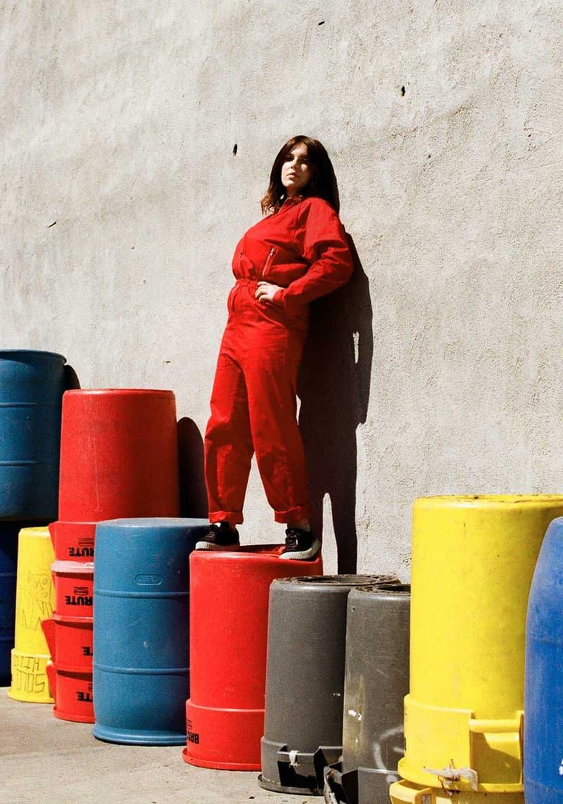 Everybody World Custom Color Flight suit Jumpsuit American Apparel Pantone Women Models Unisex
