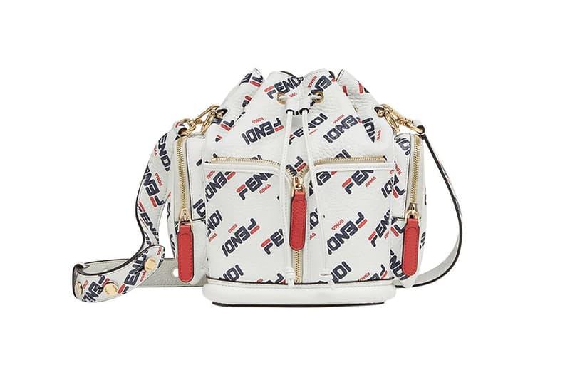 4c6f3b33c95c Fendi Mania FILA Logo Mon Tresor Bucket Bag