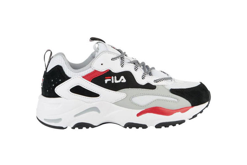 FILA Ray Tracer White Black Gray Red