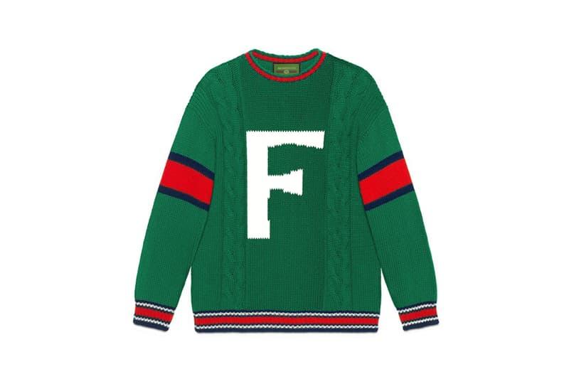 4710b1238 Gucci DIY Knitwear Unisex Wool Sweater Green