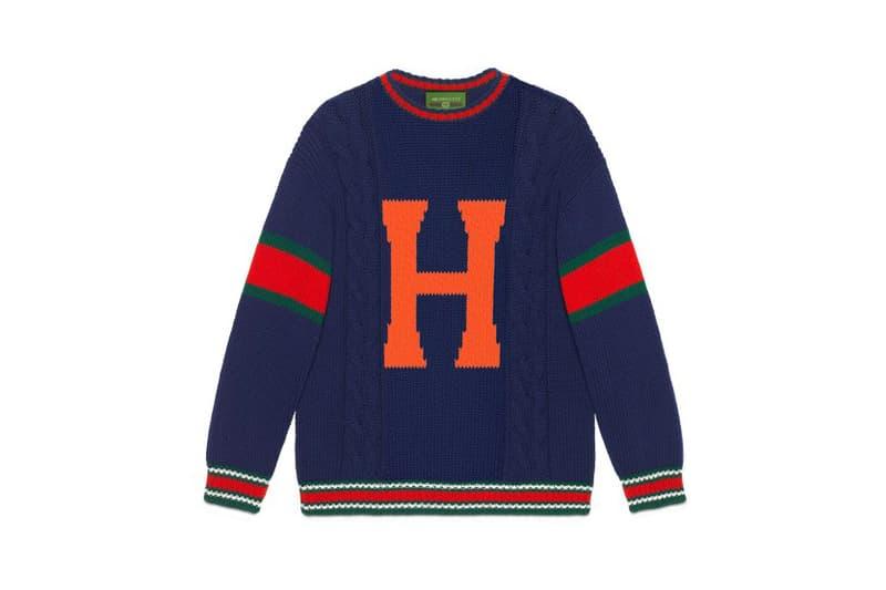 Gucci DIY Knitwear Unisex Wool Sweater Blue