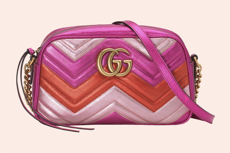 8ba5db74f31 Gucci s Metallic Gradient Marmont Bag Is a Show-Stopper