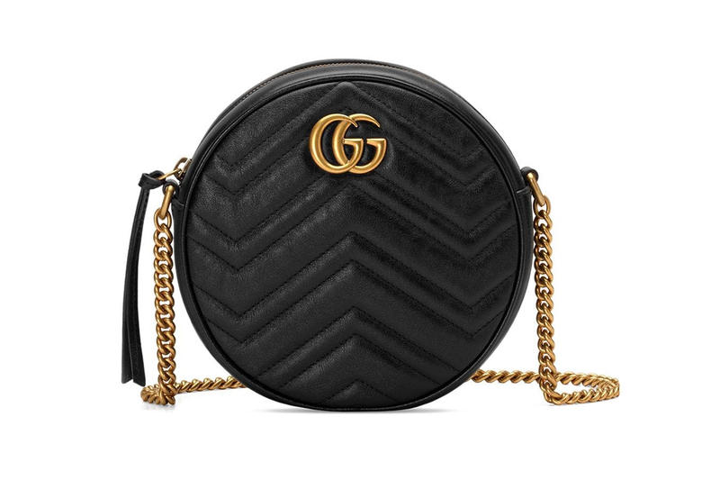595f022446a Shop Gucci Ophidia   Marmont Round Shoulder Bags