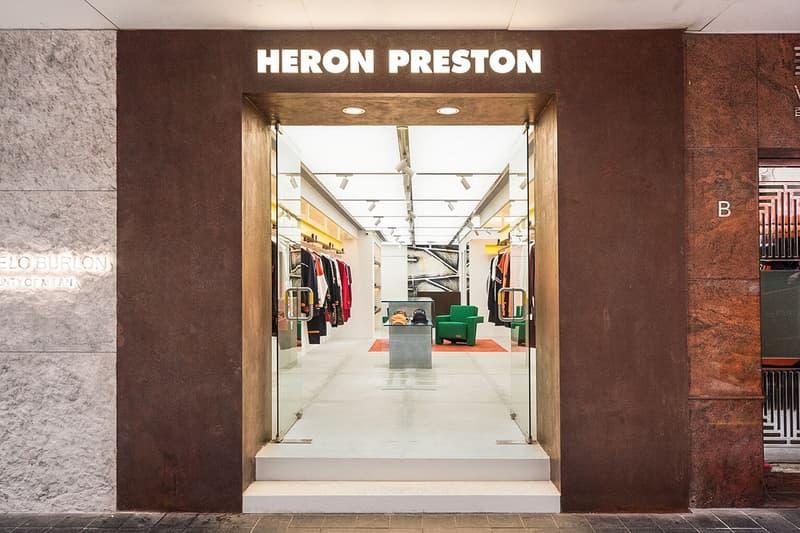 Heron Preston Hong Kong Store