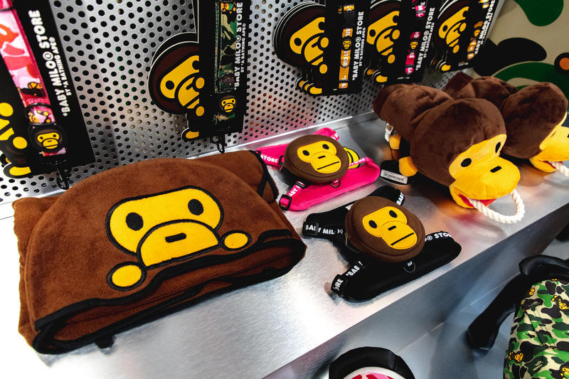 BAPE Baby Milo Pets Pop-Up