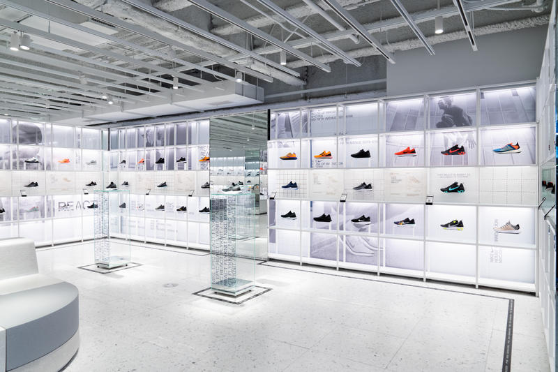 Nike House of Innovation 000 in New York City Store Sneaker Lab Expert Zone Sneakers Sportswear