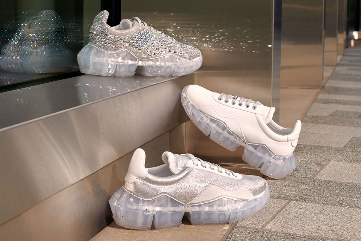 Jimmy Choo Releases First Sneaker, the