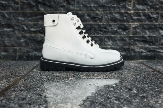 Jimmy Choo HeatTech Winter Boot Technology White Black