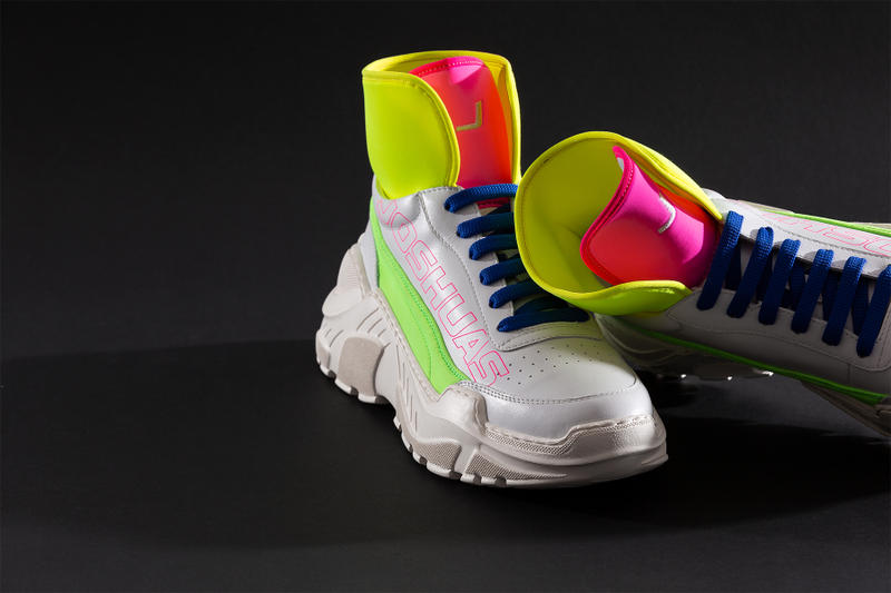 joshua sanders it neon neoprene sneaker hong kong limited edition exclusive