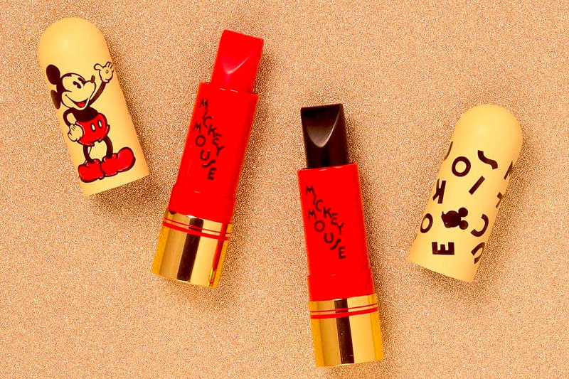 Mickey Mouse Besame Cosmetics Makeup Collaboration Lipsticks Disney 90th Birthday Anniversary Beauty
