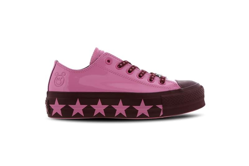 Converse Chuck Taylor Platform Maroon Pink