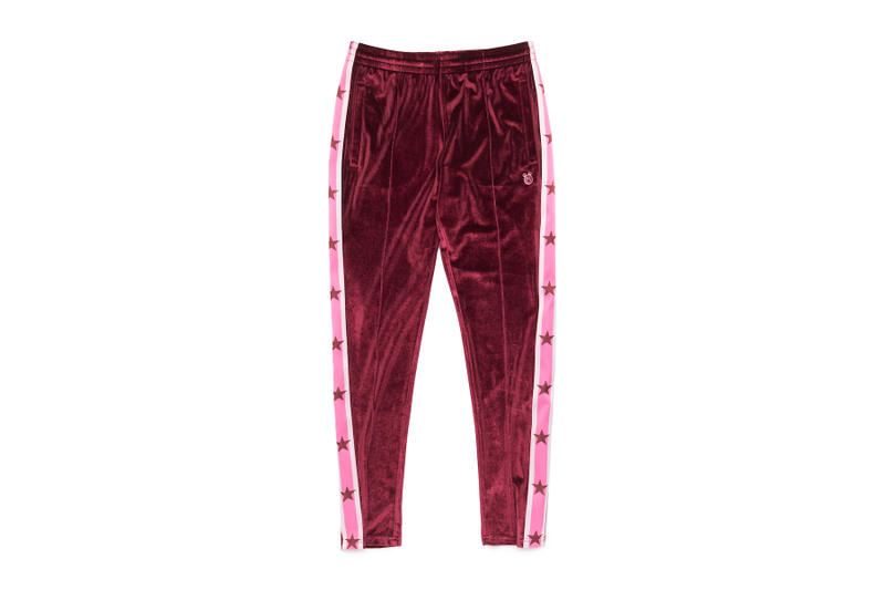 Miley Cyrus x Converse Apparel Collection Fashion Collaboration Lookbook Velour Jumpsuit Sweatpants Style