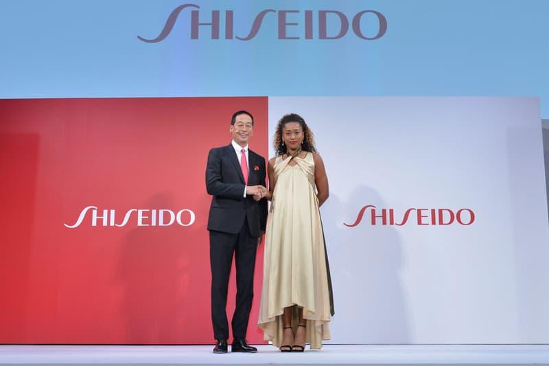 Naomi Osaka Shiseido Masahiko Uotani