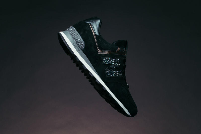 New Balance NB1 574 Swarovski Black
