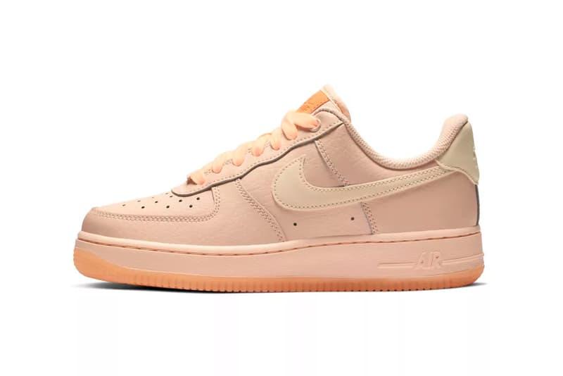 buy online 91d88 0089a Nike Releases Air Force 1 Crimson Tilt Orange Pulse