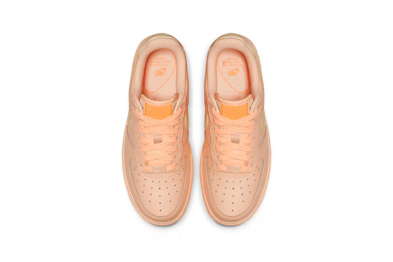 Nike Releases Air Force 1 Crimson Tilt Orange Pulse