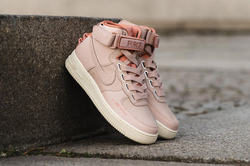 Nike Air Force 1 High Utility Particle Beige Pink