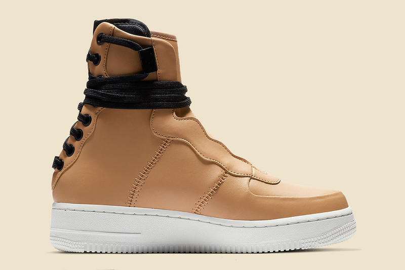 best website b64f5 ee2f6 Nike Air Force 1 Rebel XX Praline Tan Leather