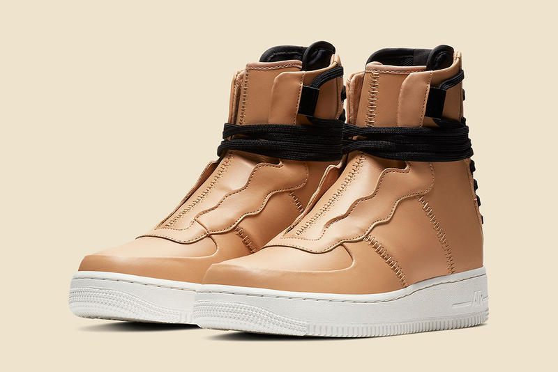 Nike Air Force 1 Rebel XX Praline Tan Leather